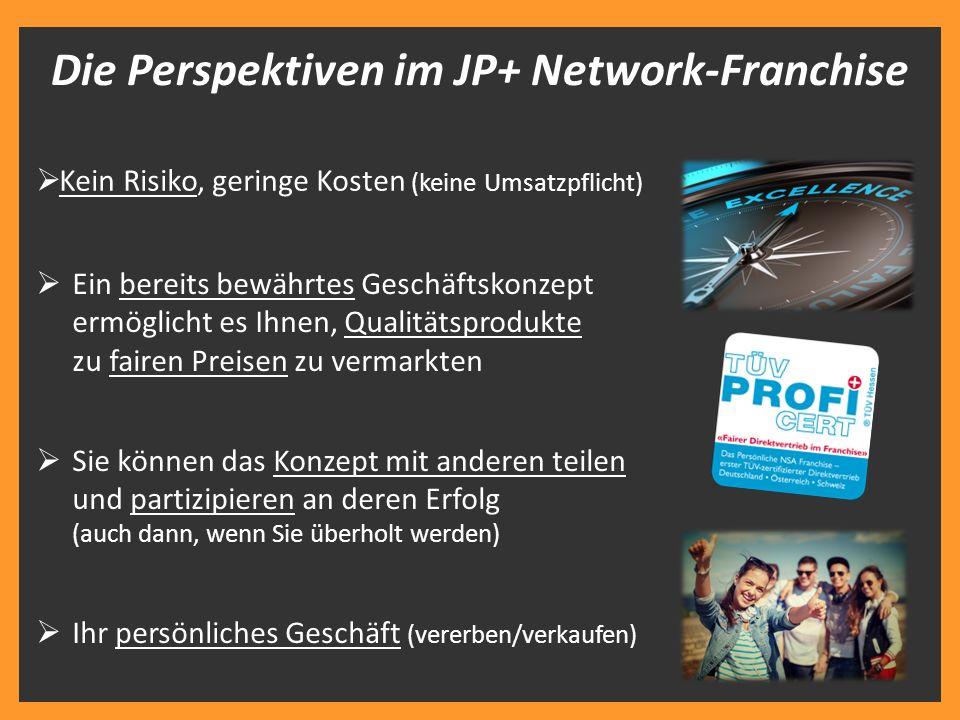 Die Perspektiven im JP+ Network-Franchise