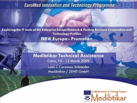 Medibtikar Technical Assistance