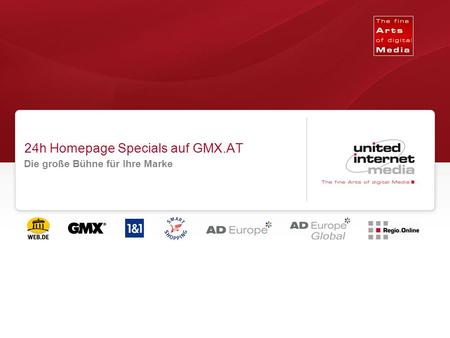24h Homepage Specials auf GMX.AT