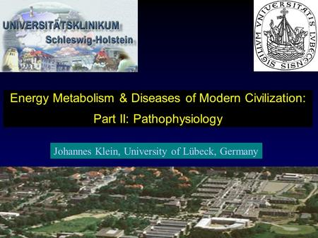 Energy Metabolism & Diseases of Modern Civilization: