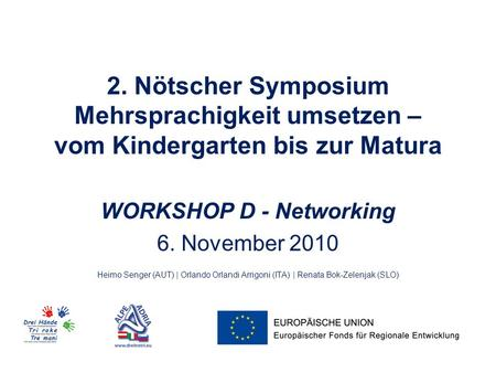 WORKSHOP D - Networking