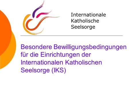 Internationale Katholische Seelsorge
