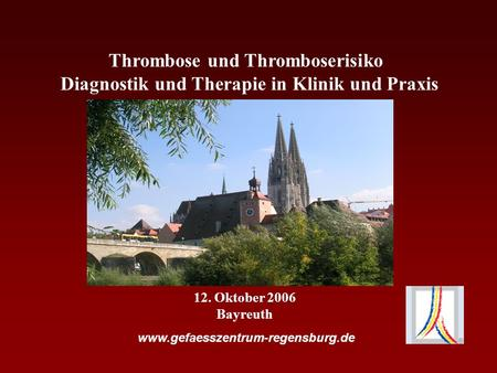 Thrombose und Thromboserisiko