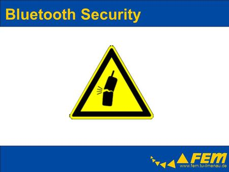 Bluetooth Security.