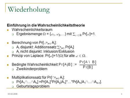 Wiederholung TexPoint fonts used in EMF.