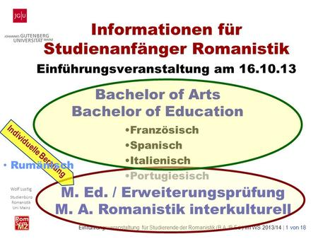 Bachelor of Arts Bachelor of Education