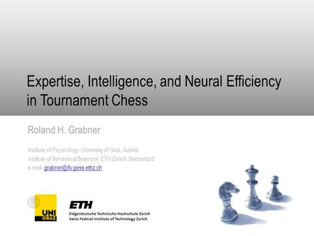 Expertise, Intelligence, and Neural Efficiency in Tournament Chess