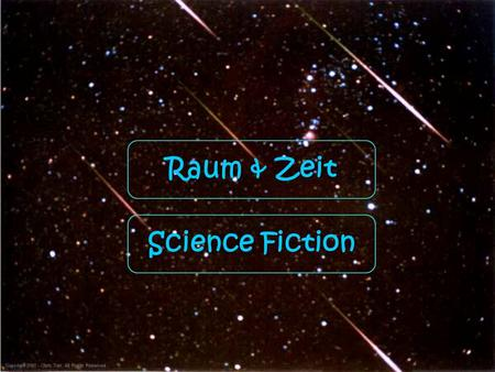Raum & Zeit Science Fiction.