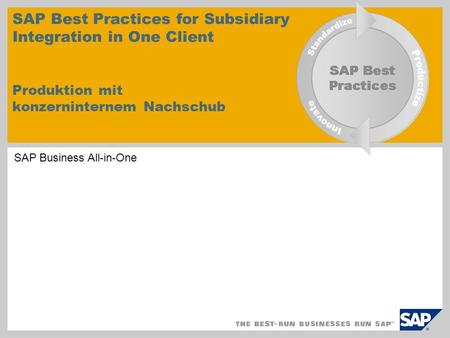 SAP Business All-in-One