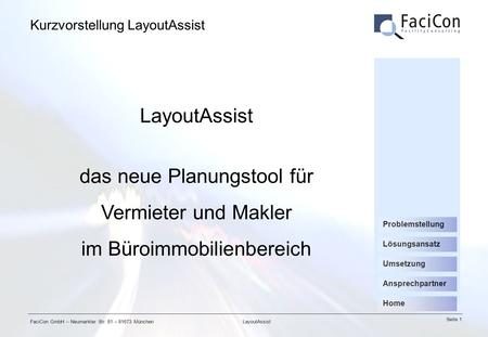 Kurzvorstellung LayoutAssist