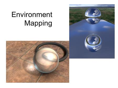 Environment Mapping.