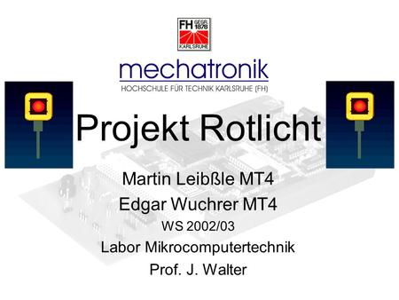 Labor Mikrocomputertechnik