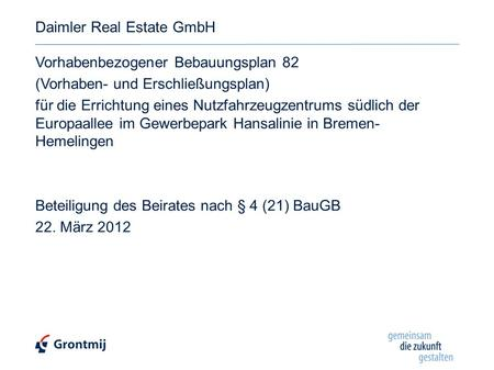 Daimler Real Estate GmbH