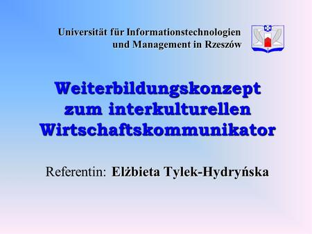 Universität für Informationstechnologien und Management in Rzeszów
