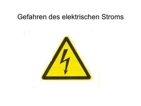 Elektrizität im Feuerwehralltag - ppt video online herunterladen