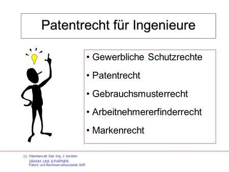 was bedeutet patent