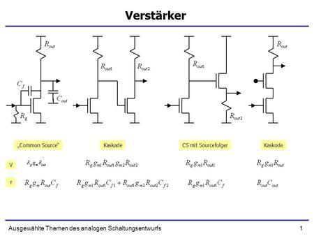 Akkumulatorproblematik Spezifischer Schaltungsentwurf und ...