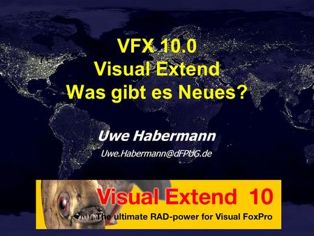 VFX 10.0 Visual Extend Was gibt es Neues?