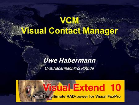 Uwe Habermann VCM Visual Contact Manager.