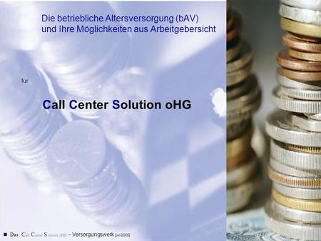 Call Center Solution oHG