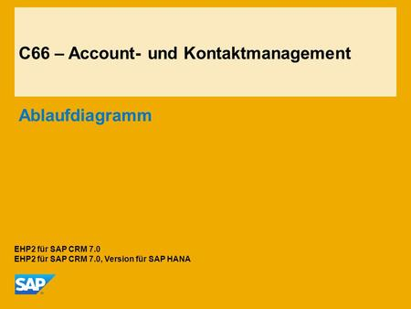 C66 – Account- und Kontaktmanagement