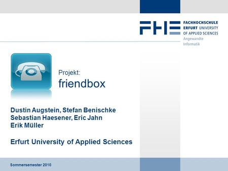 Erfurt University of Applied Sciences