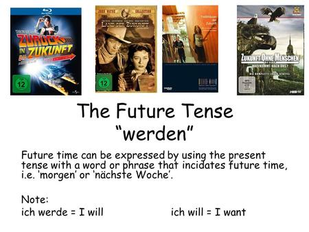 "The Future Tense ""werden"""