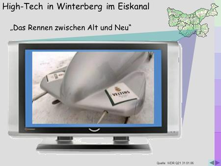 High-Tech in Winterberg im Eiskanal