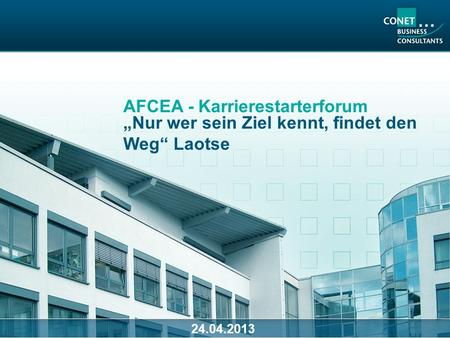 AFCEA - Karrierestarterforum