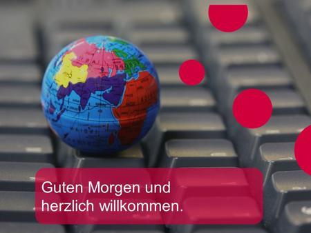 Guten Morgen Und Herzlich Willkommen Ppt Video Online