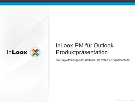 InLoox PM für Outlook Produktpräsentation