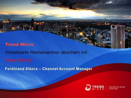 Ferdinand Sikora – Channel Account Manager