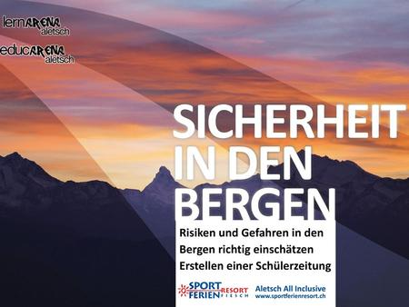 Sicherheit in den Bergen
