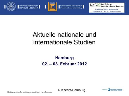 Aktuelle nationale und internationale Studien