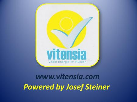 Powered by Josef Steiner