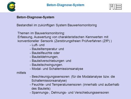 Beton-Diagnose-System