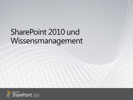 Ribbon Benutzeroberfläche / UI SharePoint Workspace SharePoint Mobile Office Client und Office Web App Integration Unterstützung von Standards.