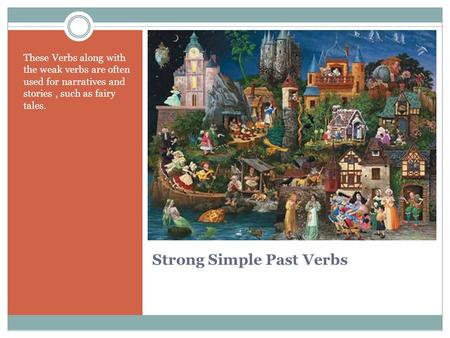 Strong Simple Past Verbs