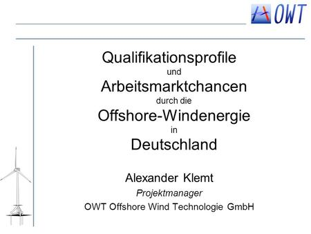 OWT Offshore Wind Technologie GmbH