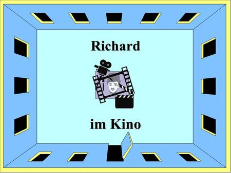 Richard im Kino.