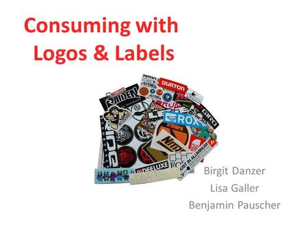 Consuming with Logos & Labels