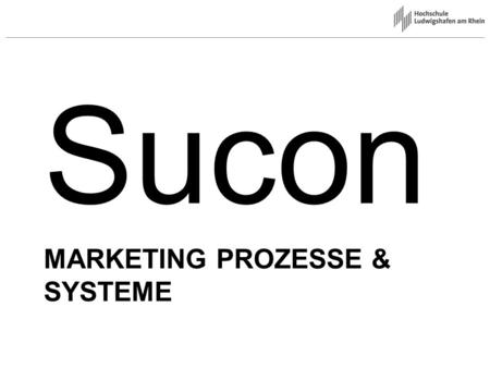 Marketing Prozesse & Systeme