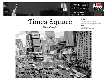 Times Square New-York Christian Barthel 709491 Yevgen Knellyer 711474.