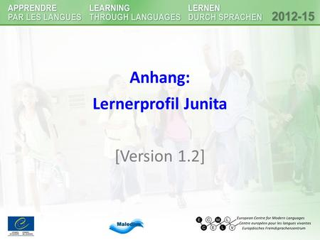 Anhang: Lernerprofil Junita [Version 1.2].