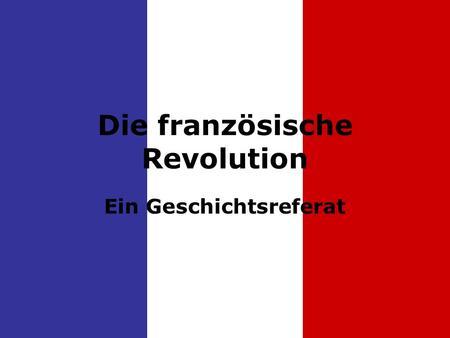 schlagwort französische revolution