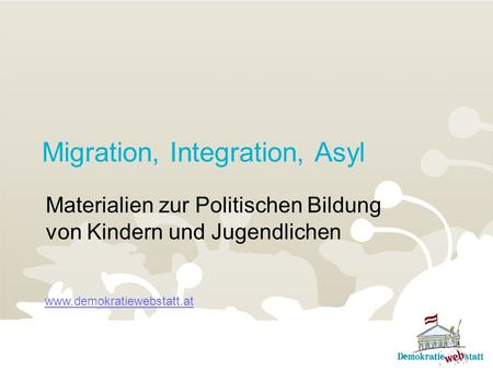 Migration, Integration, Asyl