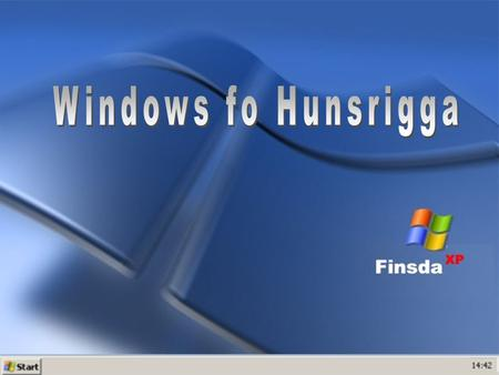 Windows fo Hunsrigga.
