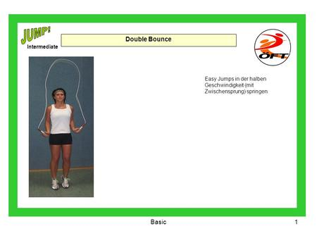 JUMP! Double Bounce Basic Intermediate