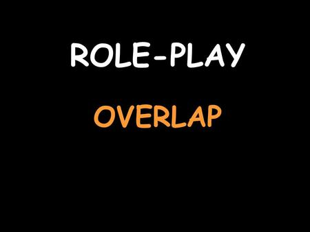 ROLE-PLAY OVERLAP You are booking a room in a hotel (you start) For help with the vocab, click herehere Listen to the question and reply Für vier Nächte,