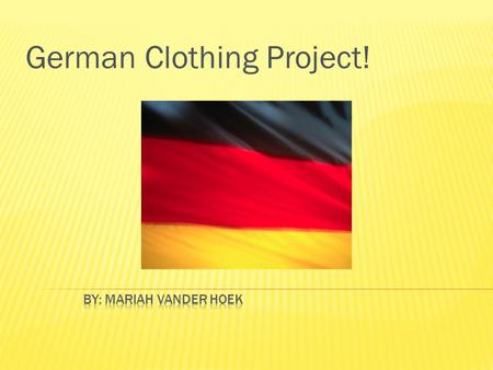 German Clothing Project!. English: Sandals! Plural: Die Sandeles Die Sandeles gefallen mir.